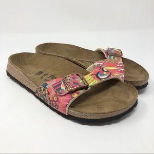Rare Birkenstock Papillio Patterned Madrid Sandal